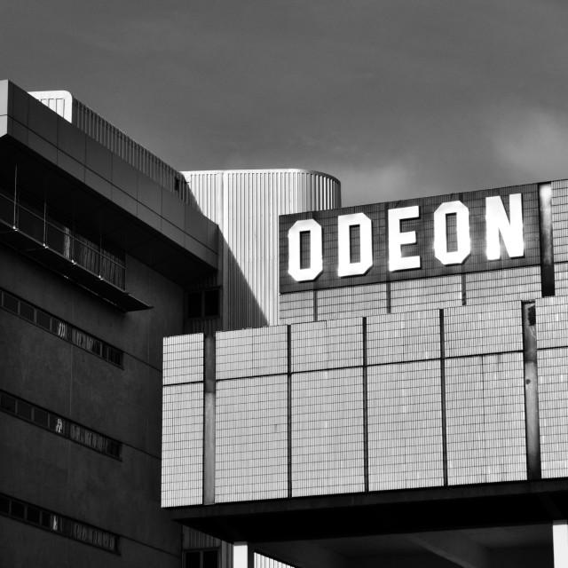 """Odeon cinema Sheffield"" stock image"