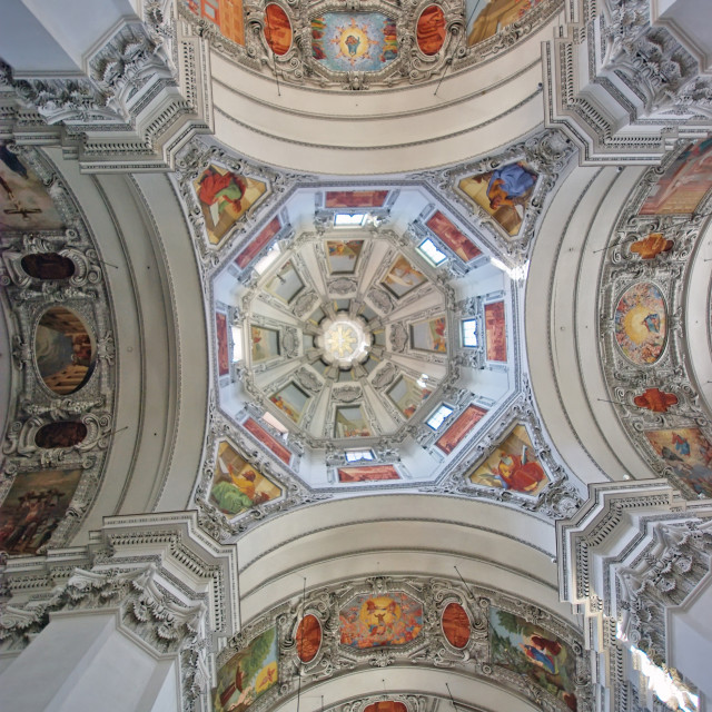 """Cathedral cupola"" stock image"
