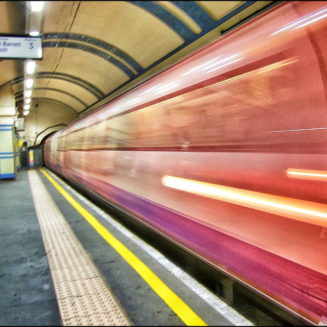 """London Tube"" stock image"