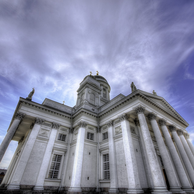 """Helsinki Cathedral"" stock image"