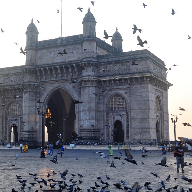 """Gateway to India, Mumbai"" stock image"
