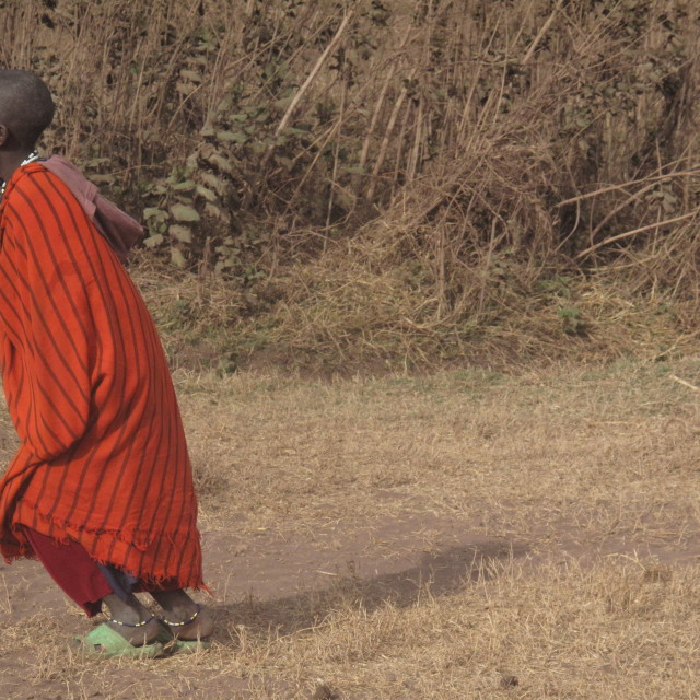 """Masai boy"" stock image"