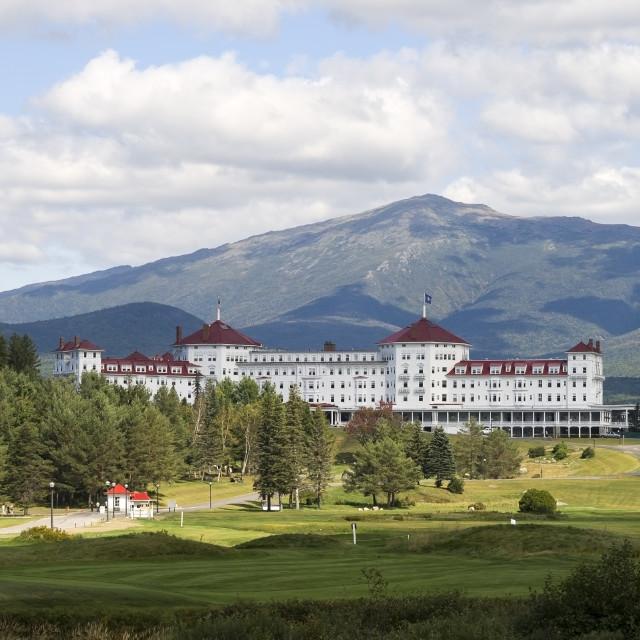 """""""Mount Washington Hotel"""" stock image"""