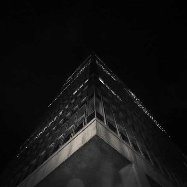 """Dark Architecture"" stock image"