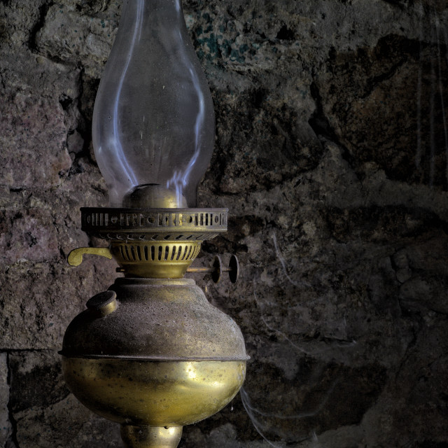 """Old Lamp"" stock image"
