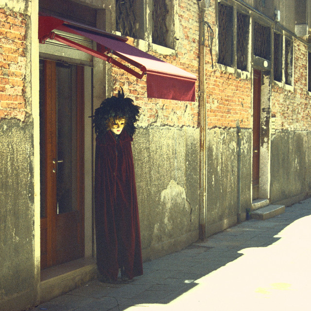 """Spooky Venetian"" stock image"
