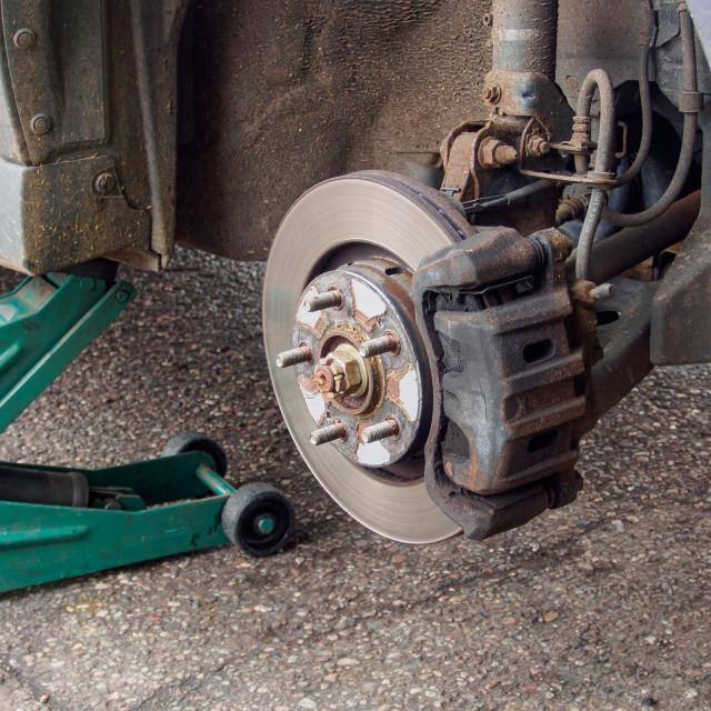 """car wheel hub"" stock image"