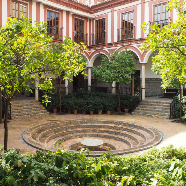 """""""Hospice de los Venerables, Seville, Spain"""" stock image"""
