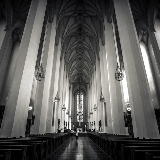 """Frauenkirche."" stock image"