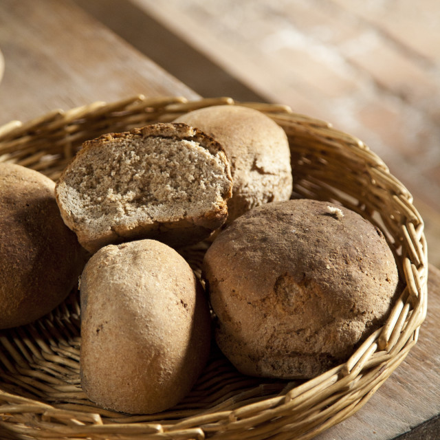 """Bread rolls"" stock image"