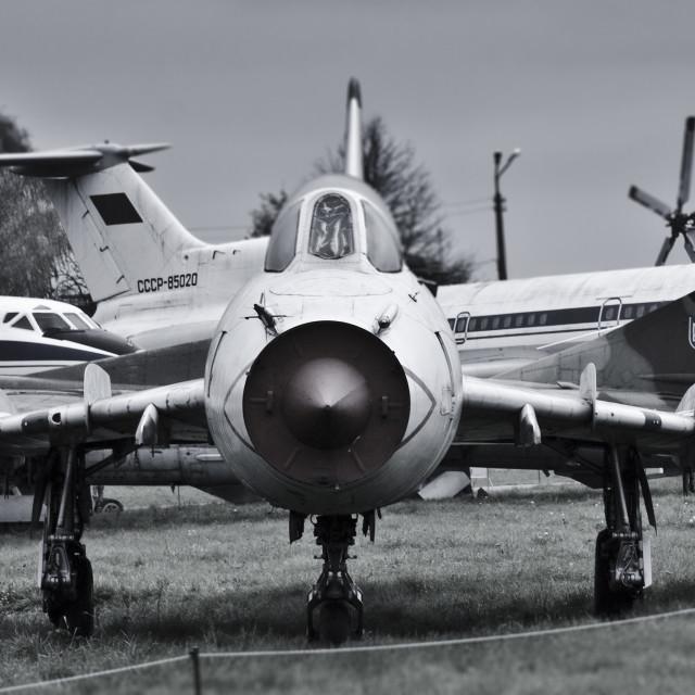 """Ukrainian Fighter Jet"" stock image"