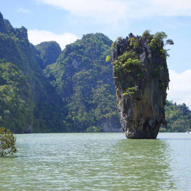 """James Bond Island"" stock image"