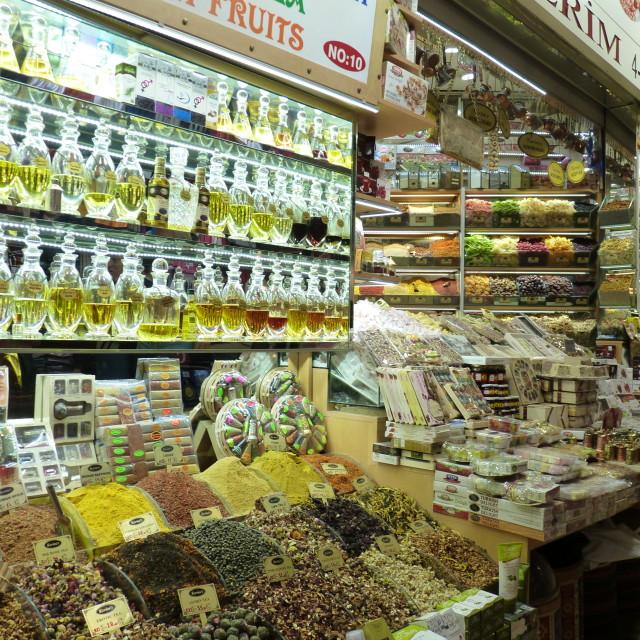 """""""Grand Bazaar"""" stock image"""