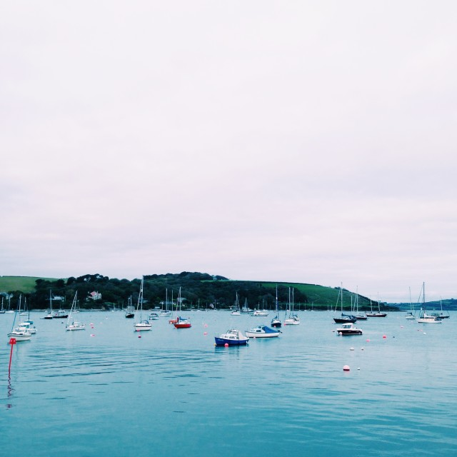 """Falmouth Harbour"" stock image"