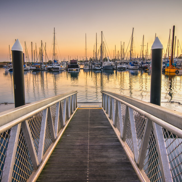 """Marina Jetty"" stock image"