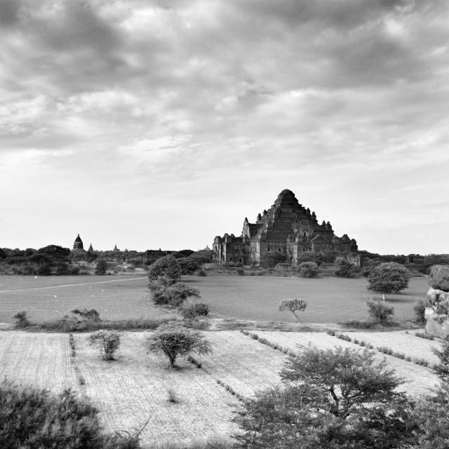 """""""Bagan Temples"""" stock image"""