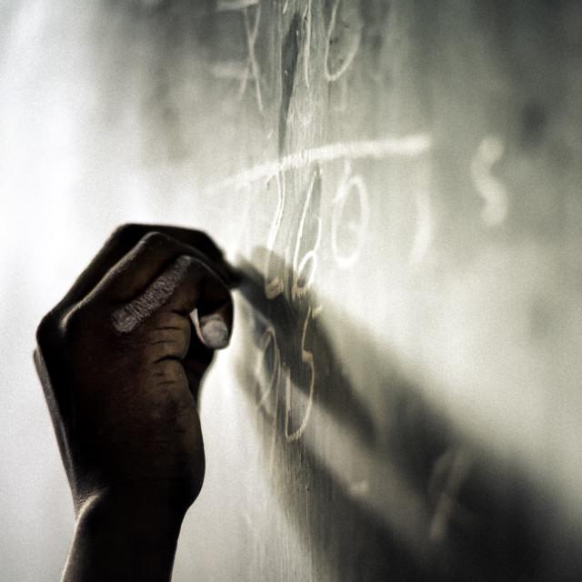 """""""Chalkboard"""" stock image"""