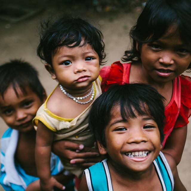 """Vietnamese kids"" stock image"