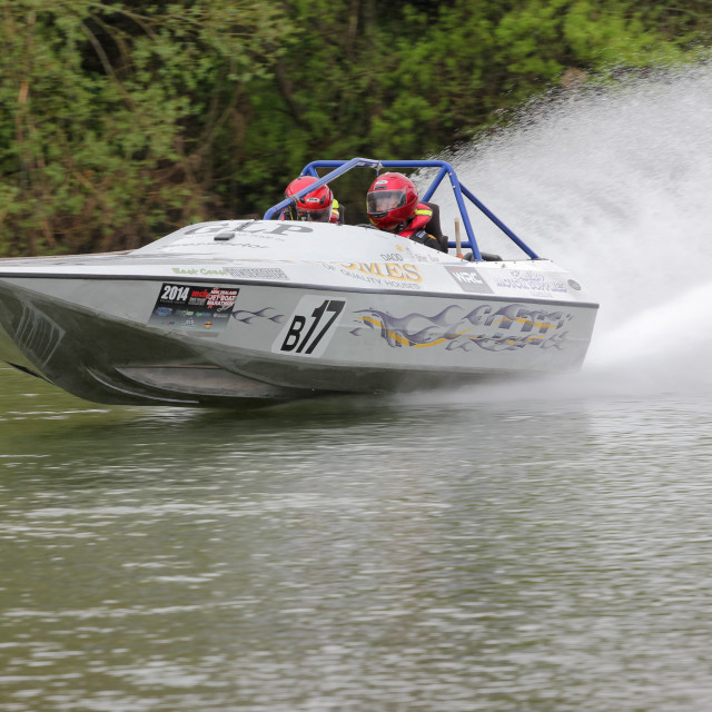 """jet boat action"" stock image"