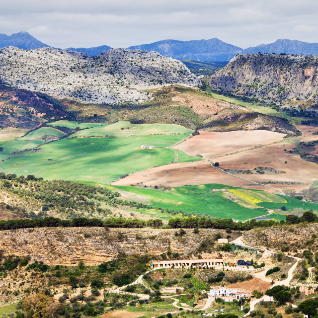 """Andalucia Countryside"" stock image"