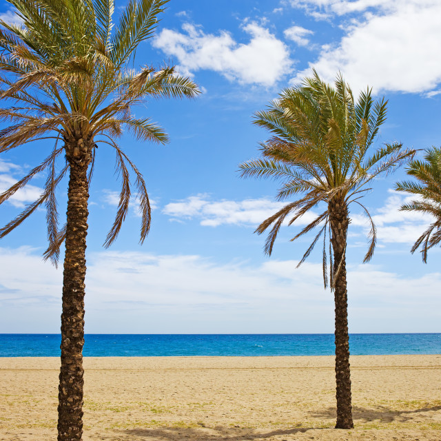 """Vacation on Costa del Sol"" stock image"