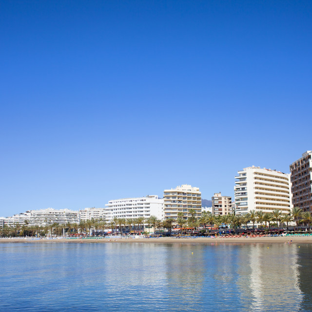 """Marbella Cityscape in Spain"" stock image"