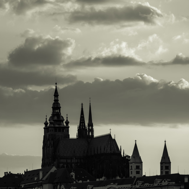"""Prague Castle"" stock image"