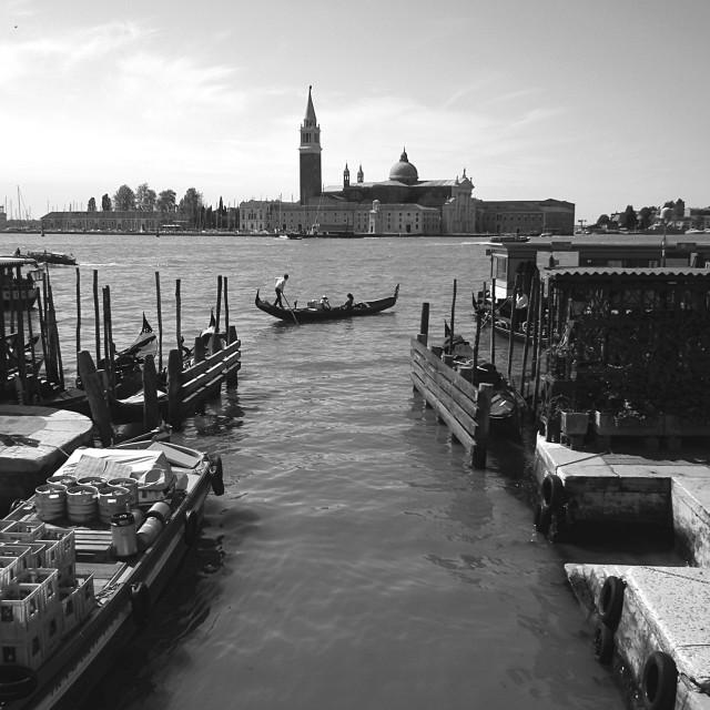 """Photographer in Venice"" stock image"