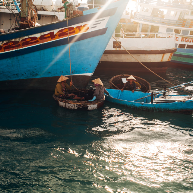 """Life in Phu Quoc Island, Vietnam"" stock image"