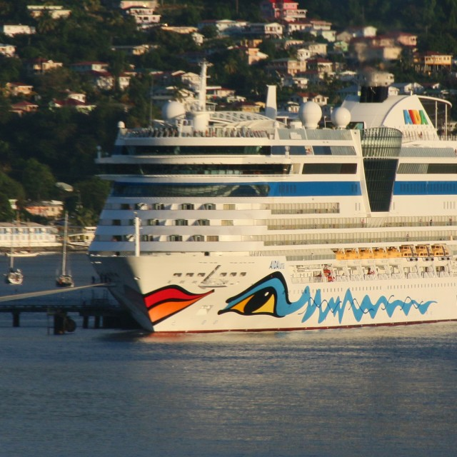 """""""AIDA Luna Cruise Ship"""" stock image"""