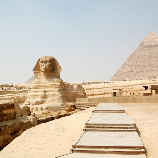 """""""Ancient wonders of the world"""" stock image"""