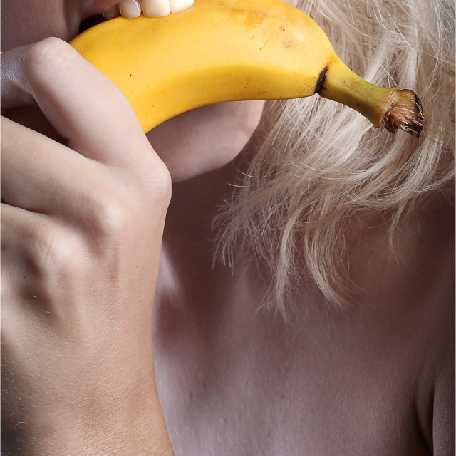 """Going Bananas"" stock image"