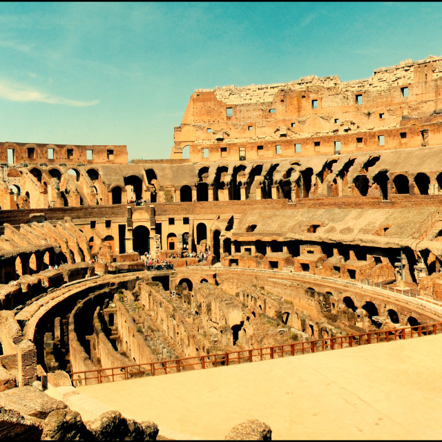 """The coliseum"" stock image"