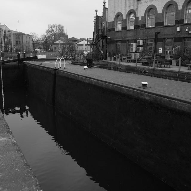 """Camden Lock"" stock image"