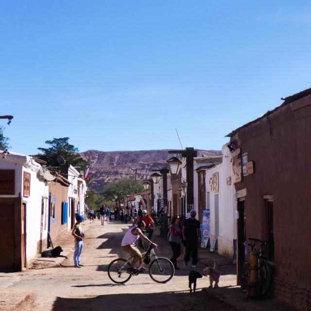 """San Pedro De Atacama Life"" stock image"