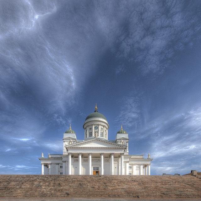 """Helsinki Cathederal"" stock image"