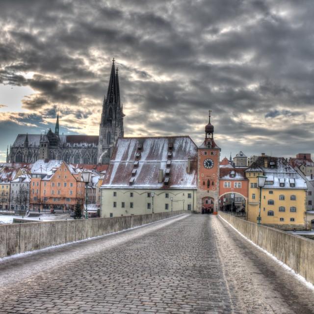 """Regensburg - December 2012"" stock image"
