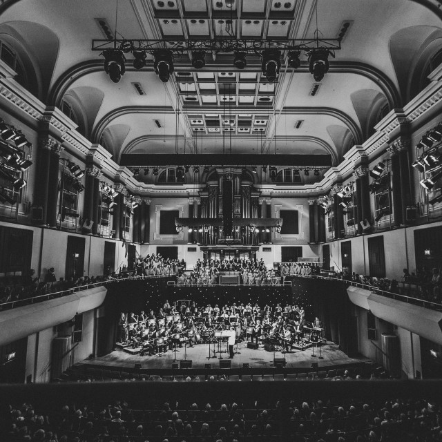 """The National Concert Hall, Dublin"" stock image"