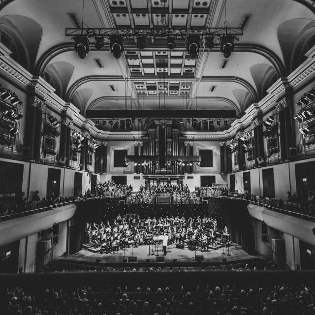 """The National Concert Hall, Dublin"" stock image"