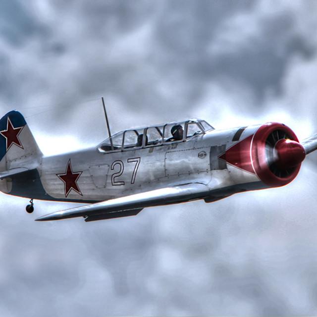 """Classic ww2 plane"" stock image"