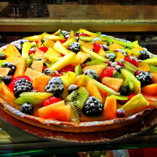 """Fruit tart"" stock image"
