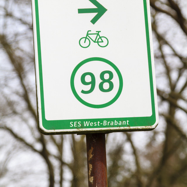"""""""Route 98"""" stock image"""