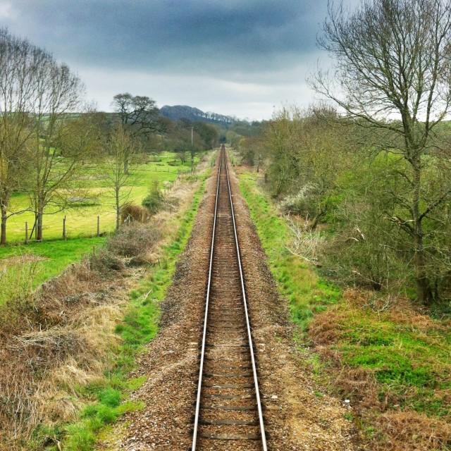 """""""Devon railway"""" stock image"""