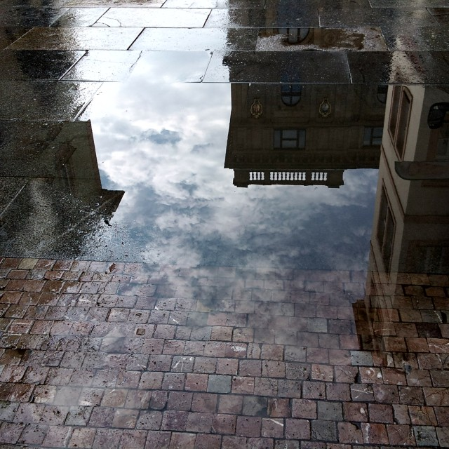 """Prague after rain - 2"" stock image"