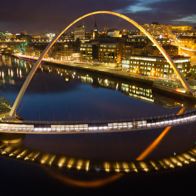 """Millennium Bridge"" stock image"