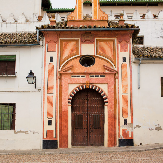 """""""Chapel of Conception in Cordoba"""" stock image"""