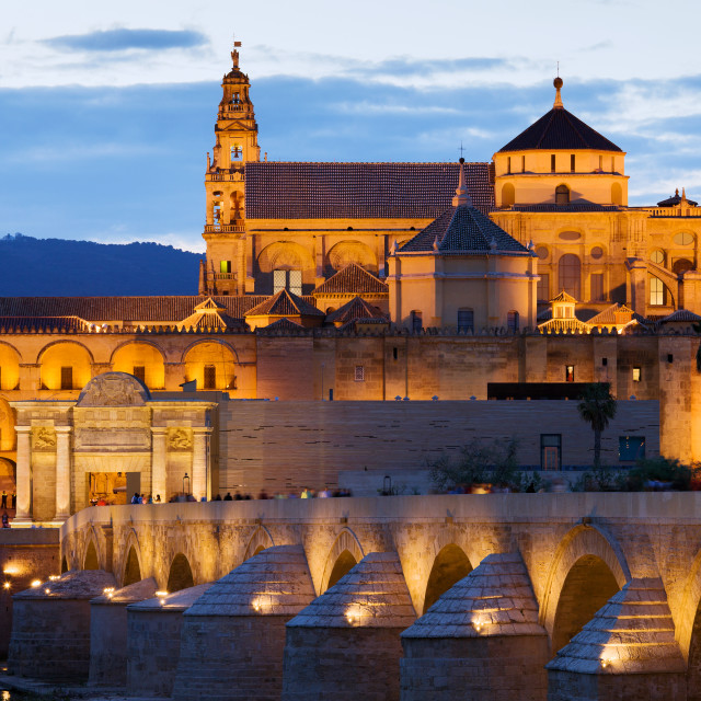 """""""Cathedral Mosque of Cordoba"""" stock image"""