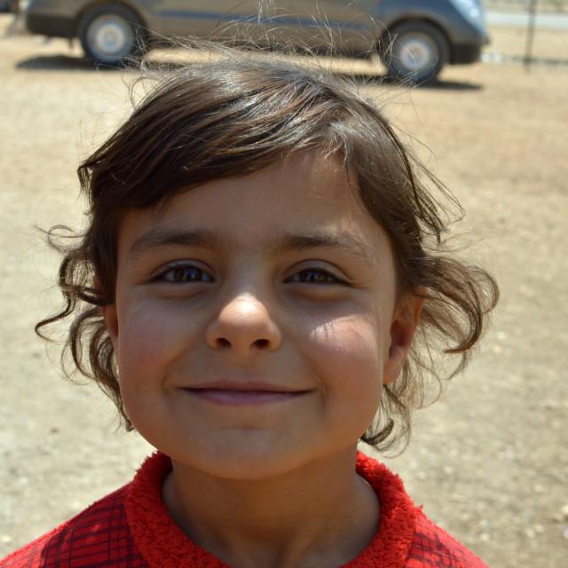 """Syrian girl 4"" stock image"
