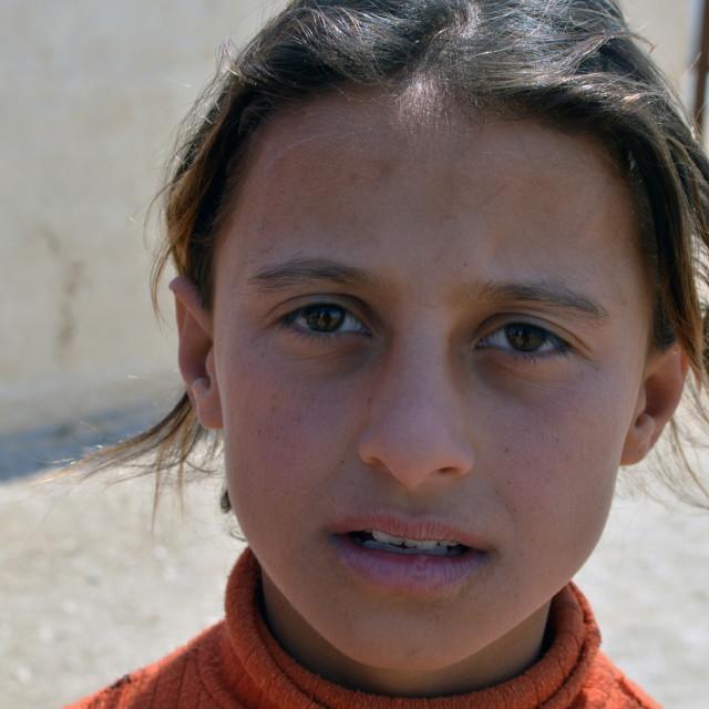 """Syrian girl"" stock image"