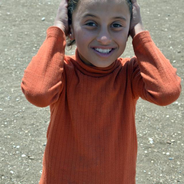 """Syrian girl 2"" stock image"